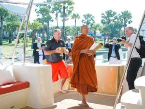 3 Heliotrope 65 Buddhist Monk Blessing Ceremony