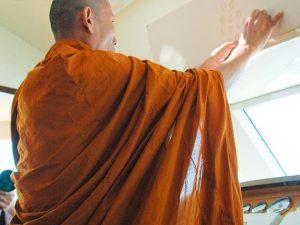 4 Heliotrope 65 Buddhist Monk Blessing Ceremony