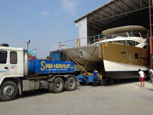 5 Heliotrope 65 Goes To Sea