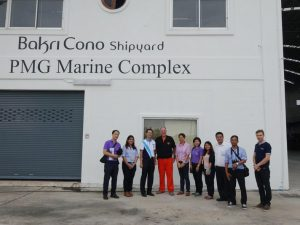 Visit Of The Bangkok Marine Department 1