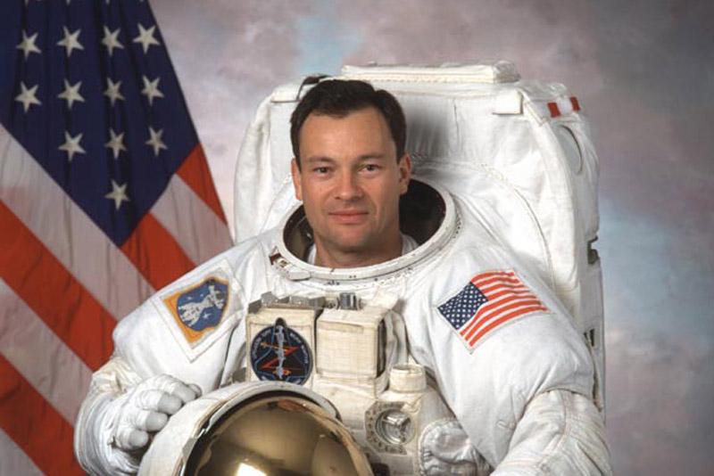 Astronaut Michael Lopez Alegria Joins Bakricono